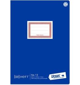 Ursus Schulheft ÖHeft, Nr.13, liniert 9 mm, A4, 80 g/m², 20 Blatt