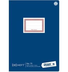 Ursus Schulheft ÖHeft, Nr.19, kariert 5 mm, A4, 80 g/m², 20 Blatt
