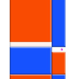 LANDRÉ Schulheft, Lin.: 22, kariert, A4, 80 g/m², holzfrei, 16 Blatt