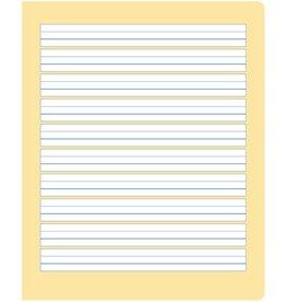 Ursus formati Schulheft, S.2, liniert 6/6/6 mm, Quart, 80 g/m², 20 Blatt