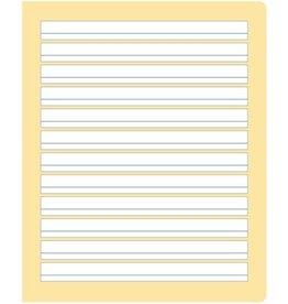 Ursus formati Schulheft, S.4, liniert 10/5 mm, Quart, 80 g/m², 20 Blatt