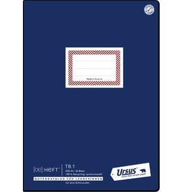 Ursus ÖHeft Schulheft, TB1 Teacher´s Book, A4, 80 g/m², RC, weiß, 26 Blatt