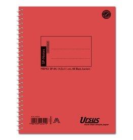 Ursus Spiralbuch, SP44, kariert 4 mm, 14,5 x 11 cm, 48 Blatt
