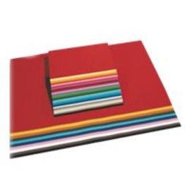 folia Tonzeichenpapier, 50 x 70 cm, 130 g/m², rosa [10st]