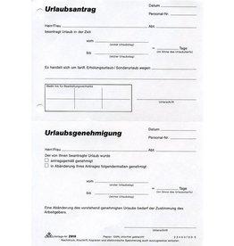 RNK Urlaubsantrag, A5, 1f., 50Bl.