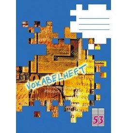 LANDRÉ Vokabelheft, Lin.: 53, liniert, A6, 70 g/m², ECF, 32 Blatt