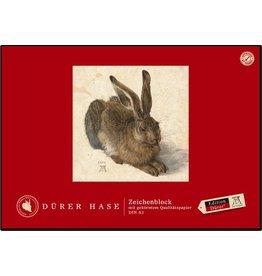 Edition Dürer Zeichenblock, blanko, A3, 100 g/m², weiß, 18 Blatt