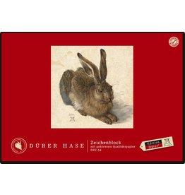 Edition Dürer Zeichenblock, blanko, A4, 100 g/m², weiß, 18 Blatt