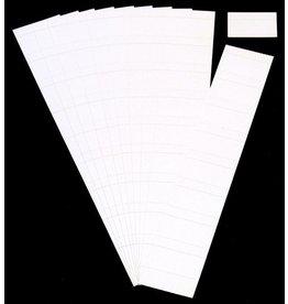 Ultradex Einsteckkarte, 60 x 32 mm, weiß
