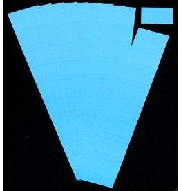 Ultradex Einsteckkarte, 70 x 32 mm, blau