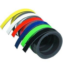 FRANKEN Magnetband, 10 mm x 1 m, schwarz