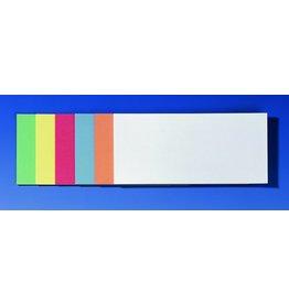FRANKEN Moderationsetikett, Rechteck, sk, 20,5 x 9,5 cm, sortiert