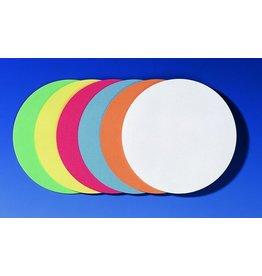 FRANKEN Moderationskarte, Kreis, Ø: 14 cm, 130g/m², sortiert