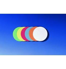 FRANKEN Moderationskarte, Kreis, Ø: 9,5 cm, 130g/m², sortiert