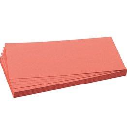 FRANKEN Moderationskarte, Rechteck, 20,5x9,5cm, 130g/m², rot