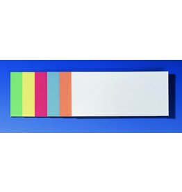 FRANKEN Moderationskarte, Rechteck, 20,5x9,5cm, 130g/m², sortiert
