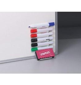 STAPLES Boardmarkerhalter, magnetisch, gefüllt