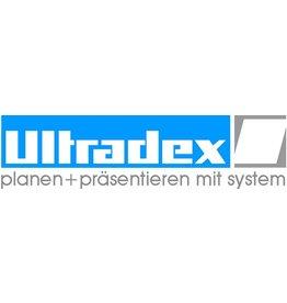 Ultradex Einsteckkarte, 70 x 15 mm, rot