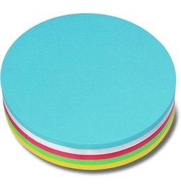 nobo Moderationskarte, Kreis, Ø: 19 cm, 130 g/m², sortiert