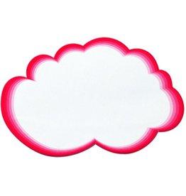 Legamaster Moderationskarte, Wolke, 23 x 14,5 cm, weiß/rot