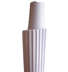 nobo Moderationspapier, 118x140cm, 80g/m², weiß