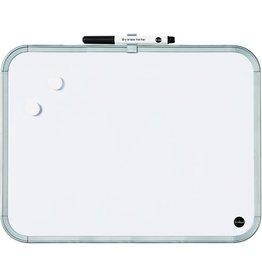 Bi-Office Multifunktionstafel, magnetisch, 27,9x33,5cm, weiß, lichtgrau
