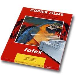 folex Kopierfolie Premium Universal, X100, A4, 0,1mm, beids.beschich.