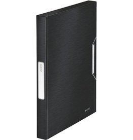 LEITZ Archivbox Style, PP, A4, 25 x 33 x 3 cm, schwarz