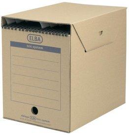 ELBA Archivbox TRIC MAXI, Wellp., A4, 23,6x33,3x30,8cm, naturbr [6st]