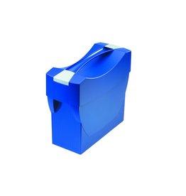 HAN Hängebox SWING, m. Deckel, leer, A4, für: 20Hängem., blau