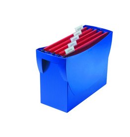 HAN Hängebox SWING, o. Deckel, leer, A4, 39x15x26cm, für: 20Hängem., blau