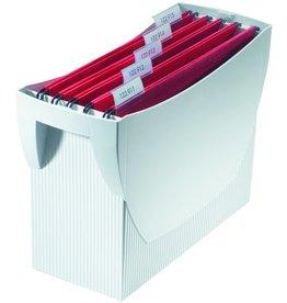 HAN Hängebox SWING, o. Deckel, leer, A4, 39x15x26cm, für: 20Hängem., gr