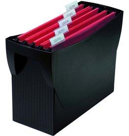 HAN Hängebox SWING, o. Deckel, leer, A4, 39x15x26cm, für: 20Hängem., sw