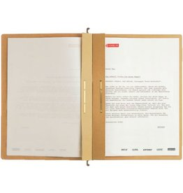 LEITZ Hängehefter ALPHA®, Natron(RC), m.Reiter, kfm. Heft./Amtsheft., A4, br