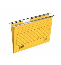 bene Hängemappe, 230 g/m², seitlich offen, A4, gelb
