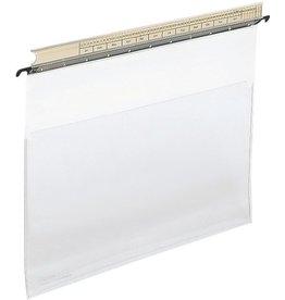 LEITZ Hängesichttasche ALPHA®, PVC-Weichfol., 0,2mm, m.Leiste, A4, farbl.