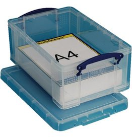 Really Useful Box Aufbewahrungsbox, PP, 9 l, 39,5 x 25,5 x 15,5 cm, farblos, tr