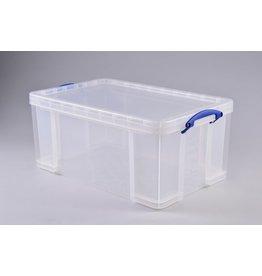 Really Useful Box Aufbewahrungsbox, PP, 64 l, 71 x 44 x 31 cm, farblos, tr