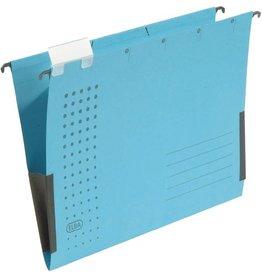 ELBA Hängetasche chic, Karton (RC), seitlich Frösche, A4, blau
