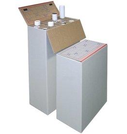 Pressel Archivbox Top-Plan-Box, Wellpappe, A1, 64 x 32 x 94 cm, weiß