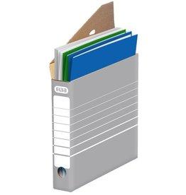 ELBA Archivbox tric, Wellp., Lasche, A4, 55x34x27cm, gr/we