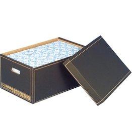 Pressel Archivbox, Wellpappe, mit Deckel, A3, 47 x 32 x 23 cm, braun