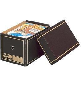Pressel Archivbox, Wellpappe, mit Deckel, A5, braun