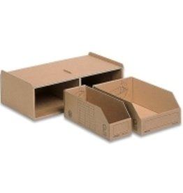 Pressel Aufbewahrungsbox Kleinteilemagazin, Kleinteileb.14x2x28/14x1x28cm