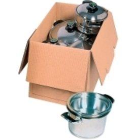Pressel Aufbewahrungsbox Trans-Box, Wellpappe, 80 x 60 x 59 cm, braun