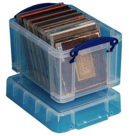 Really Useful Box Aufbewahrungsbox, PP, 3 l, 24,5 x 18 x 16 cm, farblos, tr
