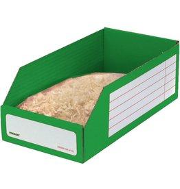 Pressel Aufbewahrungsbox, Wellpappe, 15 x 30,5 x 11 cm, grün