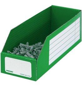 Pressel Aufbewahrungsbox, Wellpappe, 30,5 x 10 x 11 cm, grün
