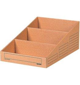 Pressel Aufbewahrungsbox, Wellpappe, 30,5 x 44,3 x 17,6 cm, braun