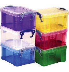 Really Useful Box Aufbewahrungsbox, XL, PP, 18 l, 48 x 39 x 23 cm, farblos, tr